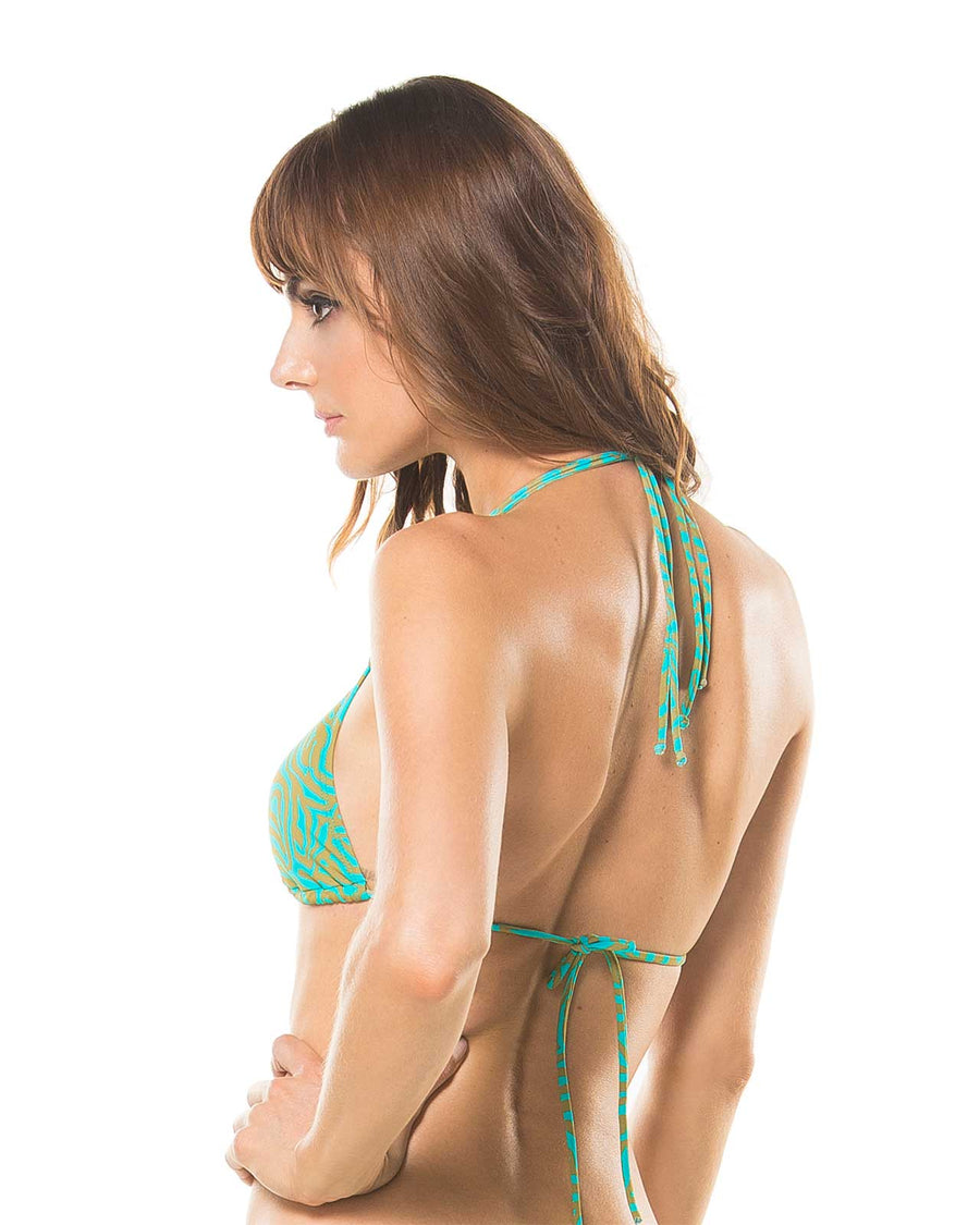 EXOTIC MANGLAR TRIANGLE TOP BY ETERNO VERANO