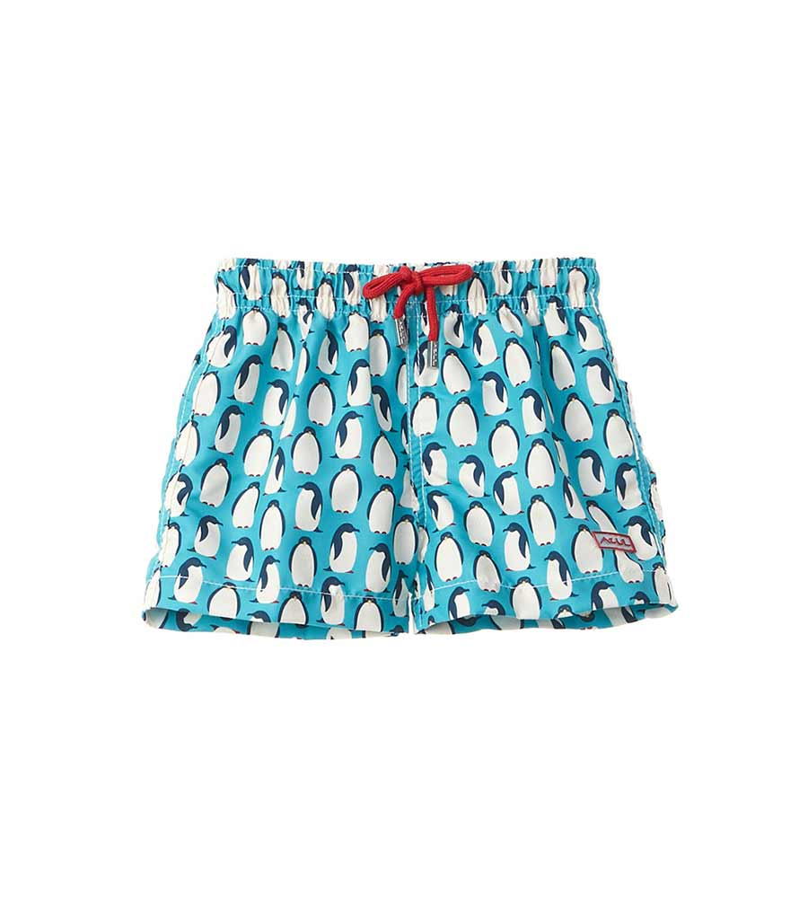 HAPPY FEET INFANT SWIM SHORTS AZUL AZ612