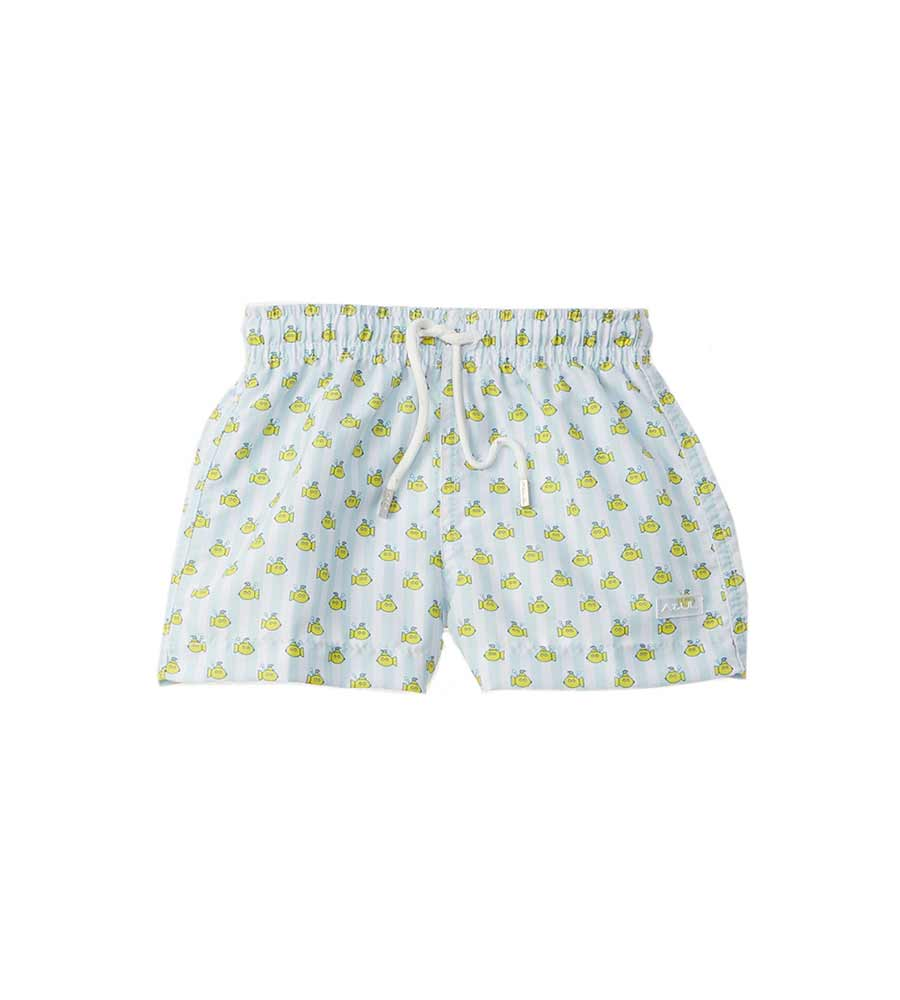 YELLOW SUBMARINE INFANT SWIM SHORTS AZUL 626