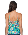 ENGLISH GARDEN ICONIC TWIST TANKINI TOP SUNSETS 70ENGA