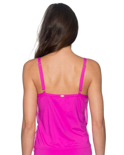 BLOSSOM AVA TIERED TANKINI TOP SUNSETS 72BLOS