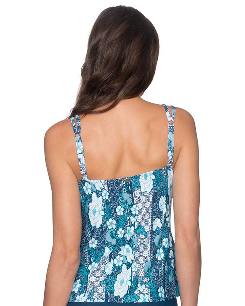 VINTAGE BLOOMS TAYLOR TANKINI TOP BY SUNSETS