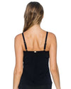 BLACK FOREVER TANKINI TOP SUNSETS 77BLCK