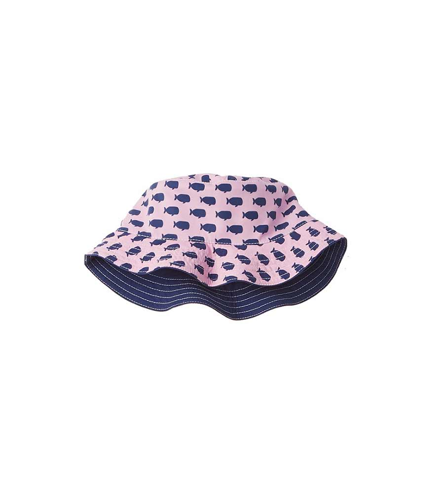 PINK OH, WHALE HAT AZUL 8077-P