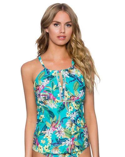 ENGLISH GARDEN MIA TANKINI TOP SUNSETS 87TENGA