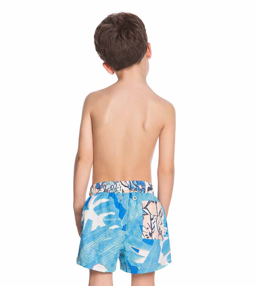 CYCLONE BOYS SWIM TRUNKS MAAJI 9086KST05