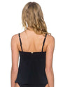BLACK SOFIA TANKINI TOP SUNSETS 90TBLCK