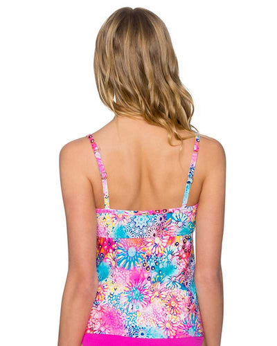 WHIMSY SOFIA TANKINI TOP SUNSETS 90TWHMY