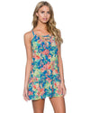 ELECTRIC OASIS RIVIERA DRESS SUNSETS 952ELOA