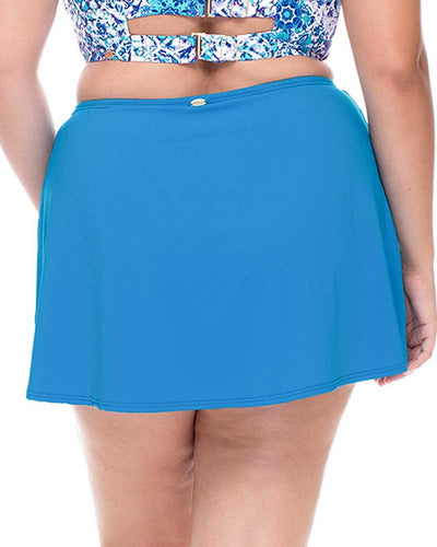 FRENCH BLUE LAYLA SWIM SKIRT CURVE 96BFRBL