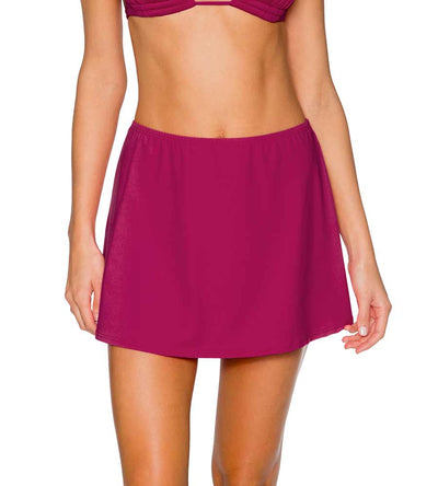 PINK POPPY DEL MAR COVER UP SKIRT SUNSETS 987PKPY