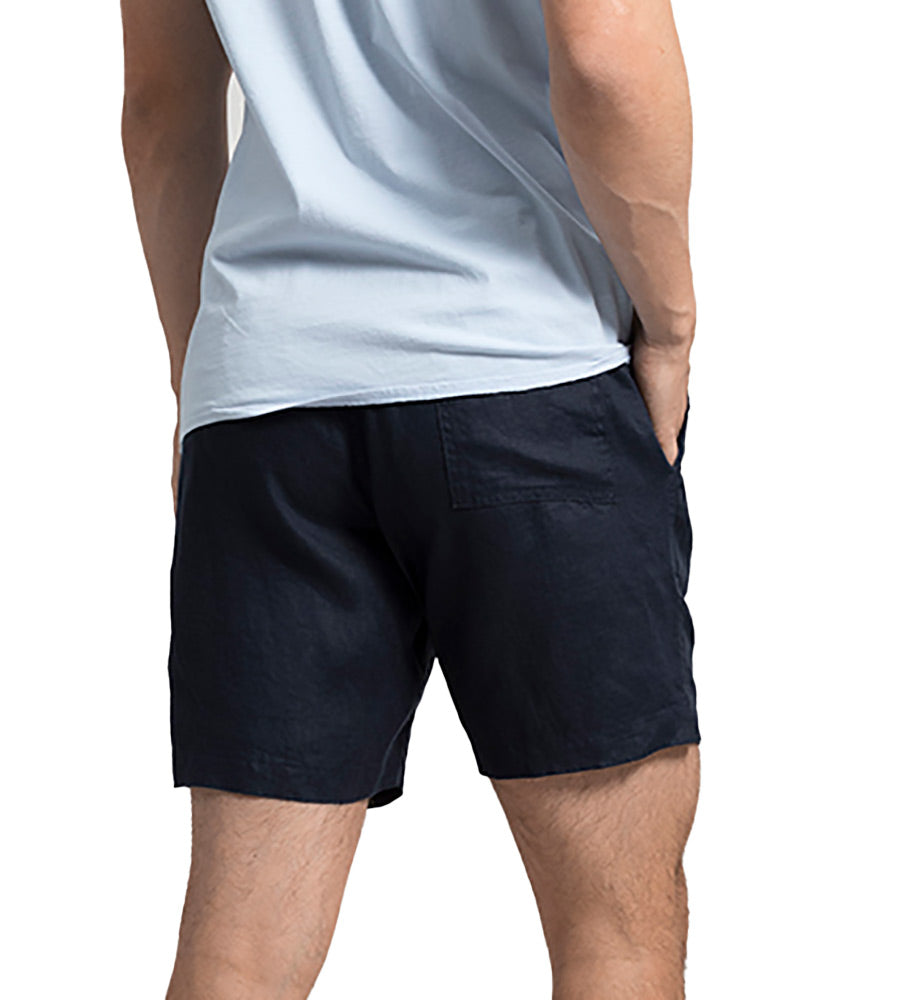 AFTER DARK LINEN SHORTS TOUCHE BH02A11