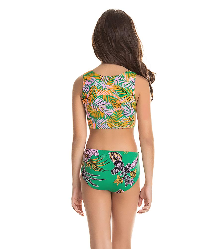 AMAZONIA TWIST GIRLS ONE PIECE MAAJI 3147KKO003