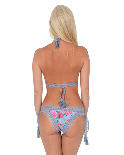 ANNA LACE-UP BOTTOM RINIKINI PAN211815