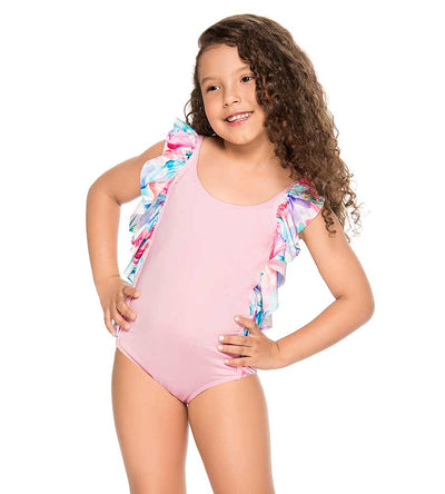 AQUA RUFFLE GIRLS ONE PIECE PHAX BF14160033-680