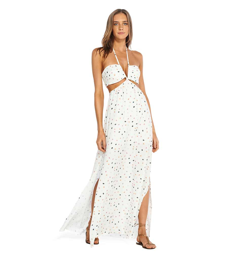 10c4edf64a ARENA CUT OUT LONG DRESS VIX 344-595-002