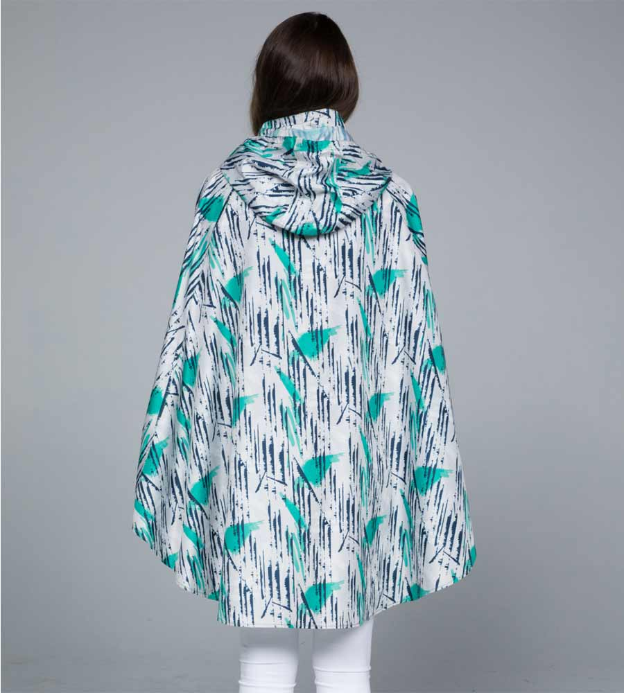 ASSANA RAIN PONCHO BY NOVEMBER RAIN