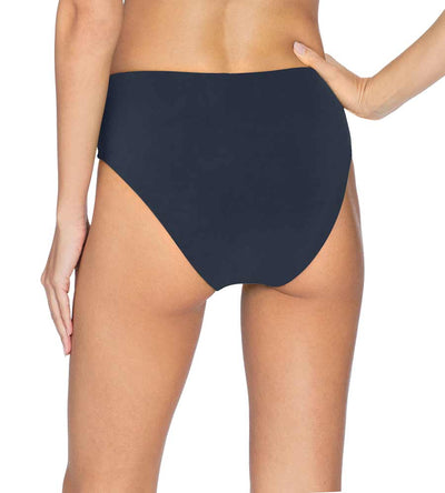 AVA NAVY HIGH WAIST BOTTOM ROBIN PICCONE 191769-NAV