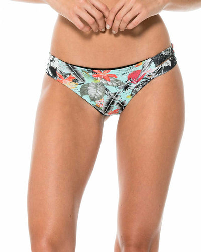 DARK TROPICALIA DOUBLE BAND BOTTOM MALAI B00233