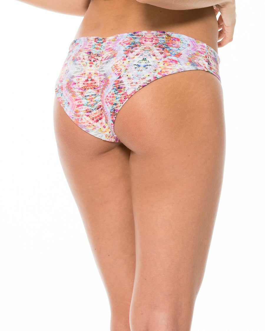 WATERED CHEVRON RUCHED BOTTOM BY MALAI