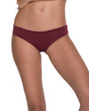 AWE FISHBONE MERLOT RUCHED BOTTOM MALAI B00325