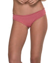 AWE FISHBONE ROSE RUCHED BOTTOM MALAI B00326
