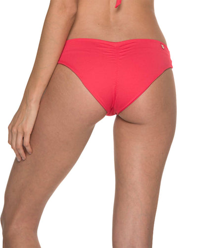 AWE FISHBONE CHERRY RUCHED BOTTOM BY MALAI