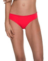 AWE FISHBONE CHERRY RUCHED BOTTOM MALAI B00332