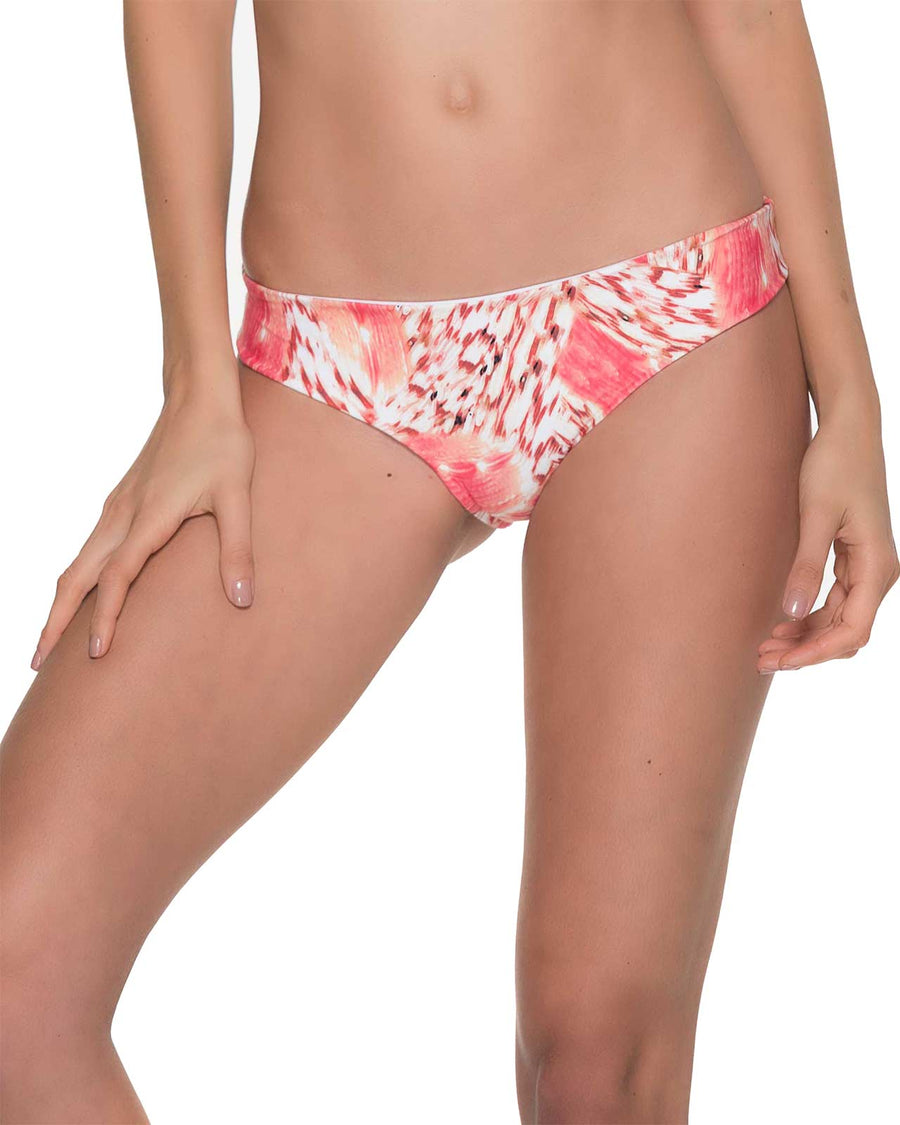 CORAL BRUSHSTROKE SEAMLESS BOTTOM BY MALAI