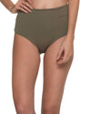 MUST FISHBONE ARMY HIGH WAIST BOTTOM MALAI B00371