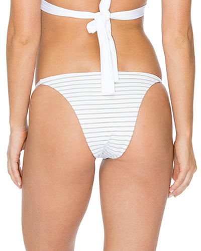 ANZA STRIPE WHITE OPAL MERCURY BOTTOM AERIN ROSE B490ASWO