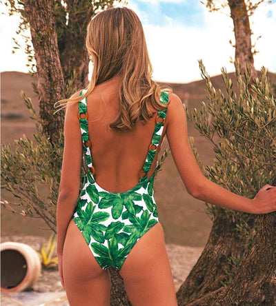 BANANA LEAF MERZOUGA ONE PIECE KITESS SWIMWEAR MERZOUGAV3
