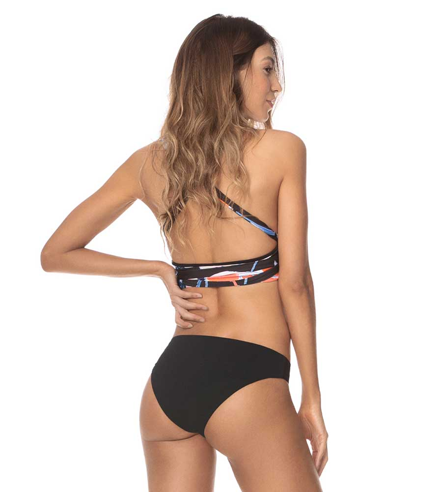 BEST VIBE TAMARINDO LONG LINE TRIANGLE BIKINI TOP BY MAAJI