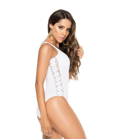 WHITE BELLE MARE ONE PIECE PHAX BF11160179-100