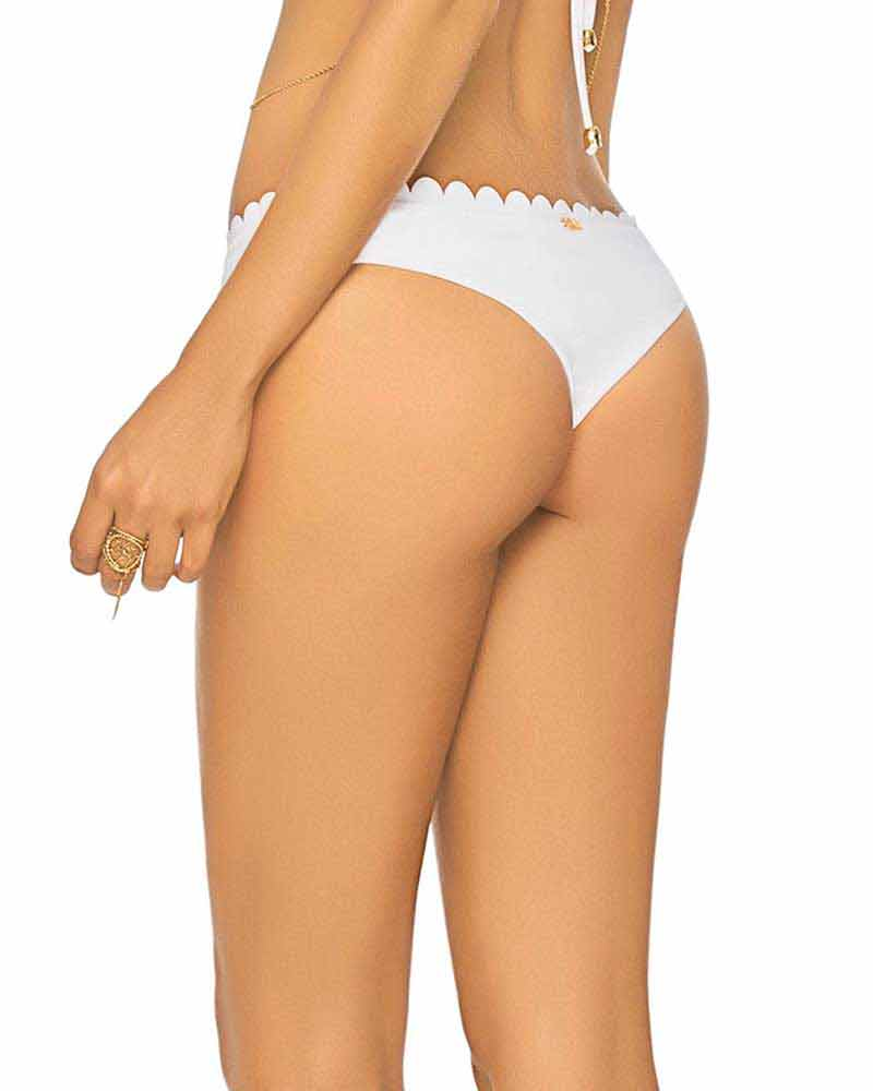 WHITE FIELD DAY THONG BOTTOM BY PHAX