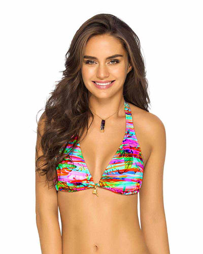 LEAF JUNGLE HALTER TOP PHAX BF11530112-315