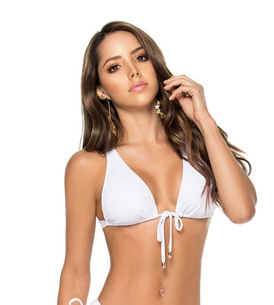 WHITE BELLE MARE HALTER TOP PHAX BF11530141-100