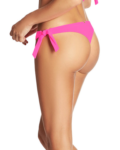NEON PINK COLOR MIX THONG TIE SIDE BOTTOM PHAX BF16320008-655