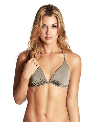 BRIGHT TAUPE COLOR MIX UNDERWIRE TRIANGLE TOP PHAX BF16510010-049