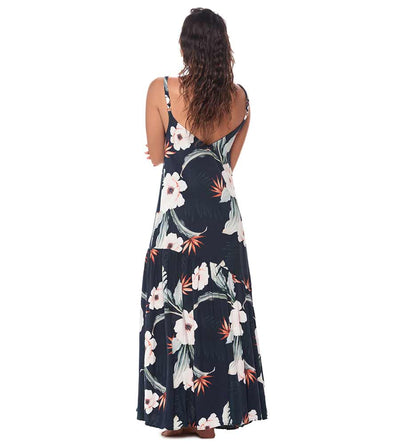 BLACK DAY DREAM CAMELUS MAXI DRESS MALAI C22047