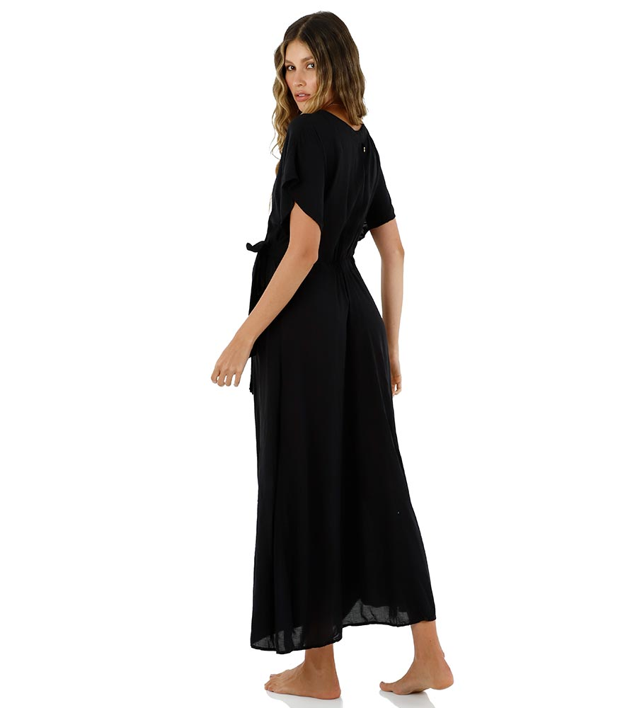 BLACK IVY MAXI DRESS BY MALAI