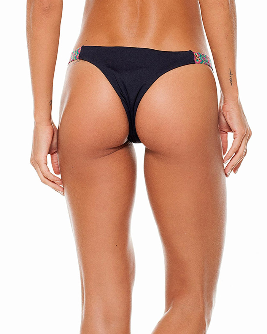 BLACK KEIRA SEMI THONG BOTTOM LYBETHRAS BTKEIRASEMI