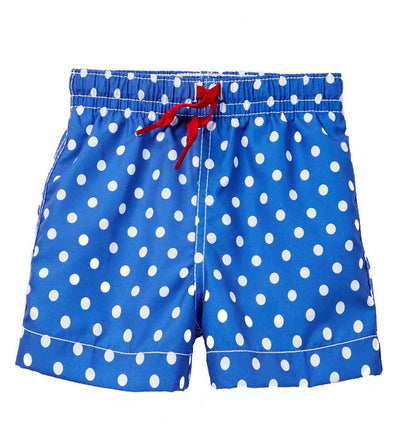 BLUE FOCAL POINT SWIM SHORTS AZUL 209-B