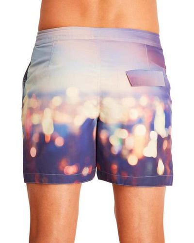 BLURRED LIGHTS SWIM TRUNKS AQUA ET SOL M6311003AS
