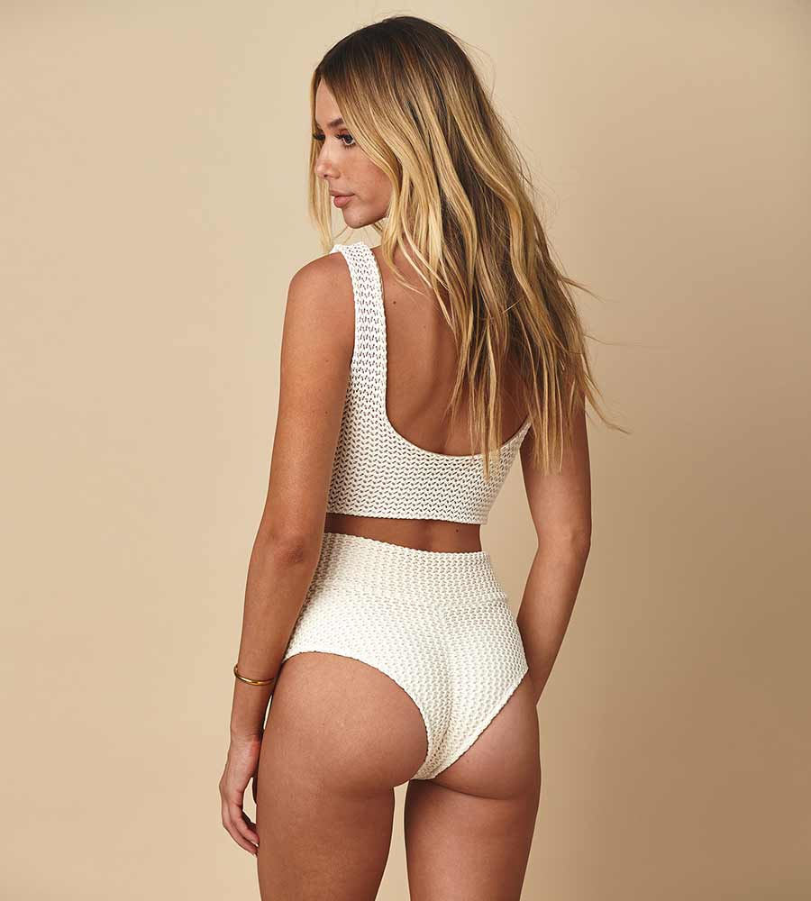 01cce646e92 BONE CROCHET HIGH RISE BIKINI BOTTOM MONTCE 19SP22