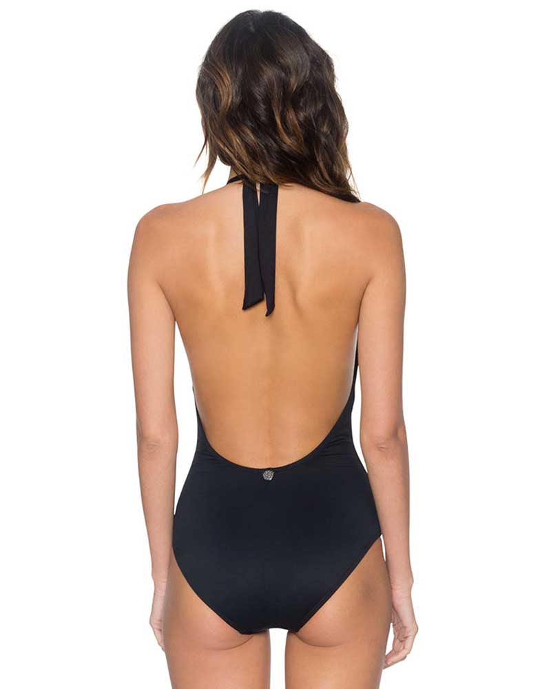 ONYX SCANDAL ONE PIECE SWIM SYSTEMS C101ONYX