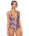 CAMELLIA SPELLBOUND ONE PIECE SWIM SYSTEMS C102CAME