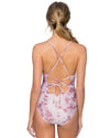 DUSTY ROSE SPELLBOUND ONE PIECE SWIM SYSTEMS C102DUSR