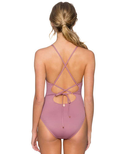 MAUVELOUS SPELLBOUND ONE PIECE SWIM SYSTEMS C102MAUV