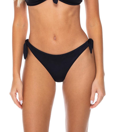 ONYX POPPY TIE SIDE BOTTOM SWIM SYSTEMS C212ONYX